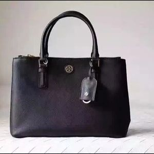 Tory burch Robinson Double Large Tote